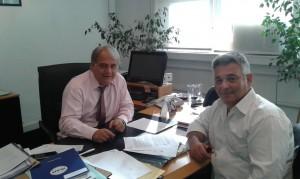Fernando Abrate y Mauricio Barriientos.