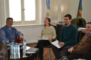Barrientos con autoridades del Consejo Nacional de las Mujeres.