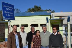 Barrientos recorrió Centros de Atención Primaria de la Salud.