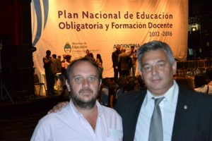 Lucas Bettoli y Mauricio Barrientos.