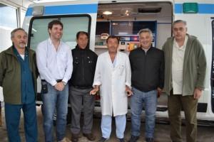 El Hospital de Chacabuco tiene una nueva ambulancia de Alta Complejidad.
