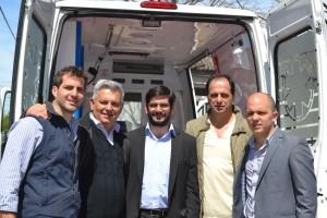 Nueva ambulancia de alta complejidad para el Hospital.