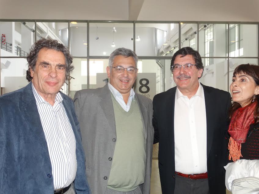 Jozami, Barrientos y Selioni.