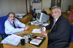 Barrientos se reunió con Carlos Kirchner.