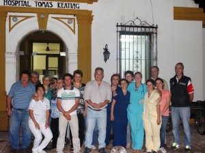 Barrientos en el Hospital de Castilla.