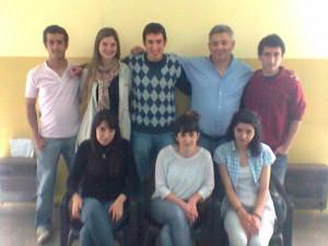 Barrientos se reunió con integrantes del CECH La Plata.