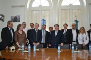 El Ministro Collia en Chacabuco.