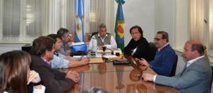 Barrientos se reunió con Concejales del PJ.