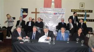 Firma del convenio para instalar una clínica de Fertilización Asistida en Chacabuco.