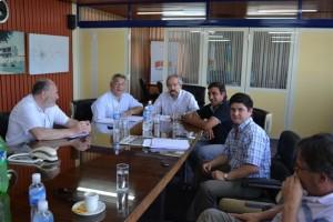 Barrientos firmó convenio con Cooperativa Eléctrica.