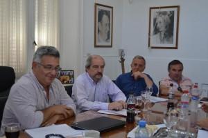 Barrientos se reunió con la Cooperativa Eléctrica.
