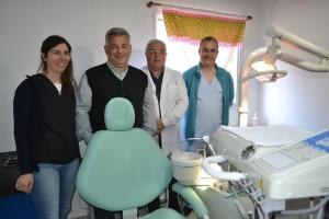 La Sala de Salud de Cucha cuenta con servicio de odontología.