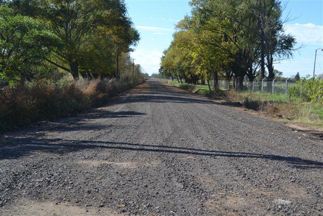 Imagen de las mejoras en el camino a Cucha Cucha.