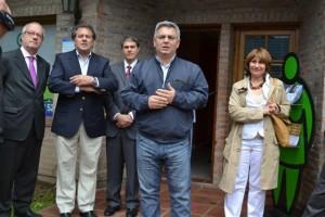 Barrientos en la inauguración de de la Casa de Derechos de la Defensoría del Pueblo en Chacabuco.
