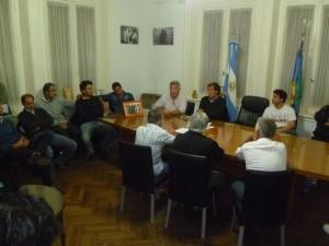 Barrientos se reunió con su Gabinete.
