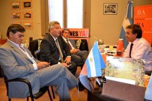 Barrientos y Golia en La Plata y Buenos Aires.