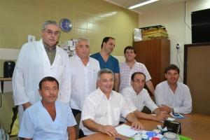 Barrientos anunció cambios en el Gabinete desde el Hospital.