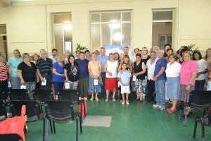 Reconocimiento a jubilados municipales.