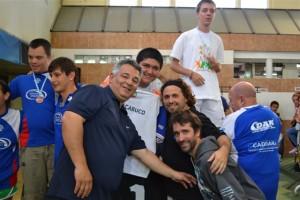 El Intendente Mauricio Barrientos acompañó a los atletas en Mar del Plata.