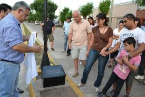 Barrientos en el homenaje a Pablo Sosa Giannelli.