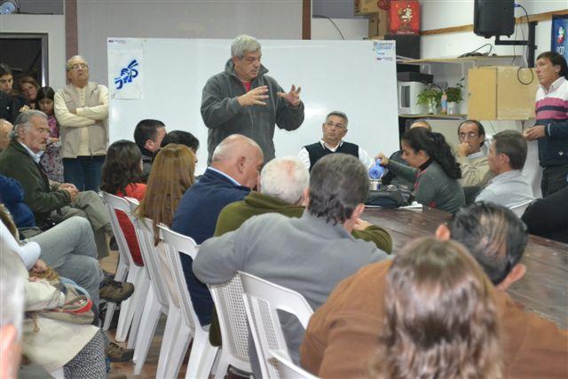 Barrientos junto a Domínguez en Plenario del PJ.