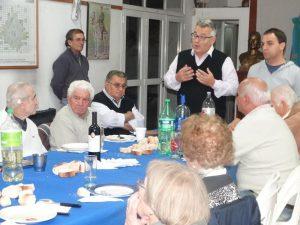 Barrientos reunido con Peronistas.
