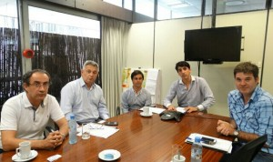 Barrientos realizó gestiones por el PROCREAR.