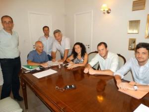 Hoy se firmó escritura de compraventa de quinta  para el Procrear.