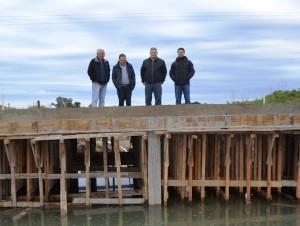 Finaliza la obra del puente de la Bonita de Decung.