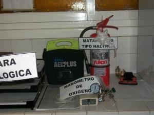 Otros materiales hospitalarios entregados.
