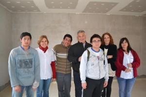 Alumnos de la Escuela 501 comenzaron a trabajar en la Planta de Reciclado.