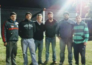Barrientos y Peralta  en el  Club Rivadavia