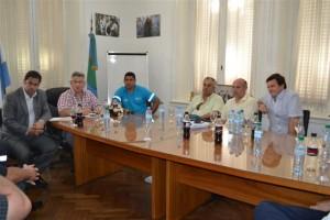 Reuniones por Seguridad Vial en Chacabuco.