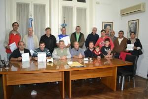 Entrega de subsidios a Clubes Deportivos.