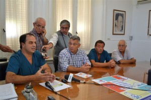 Presentación de la campaña de vacunación contra la gripe en Chacabuco.