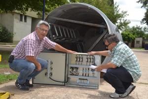 Barrientos anunció inversiones en Agua y Cloacas.