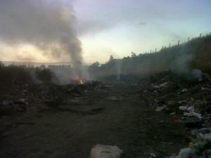 Asesor del Área de Medio Ambiente de la Defensoría del Pueblo visitó Chacabuco por los basurales a cielo abierto.