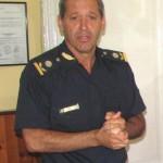 El Comisario Rubén Benítez lideró las actuaciones.