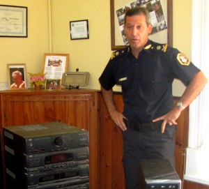 Comisario Inspector Rubén Benítez.