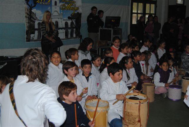 Alumnos del Jardín 909. Foto gentileza Beto Verde.