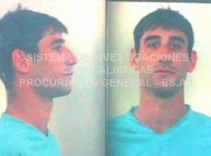 Iván Ezequiel Bolado fue detenido esta madrugada en Venado Tuerto.
