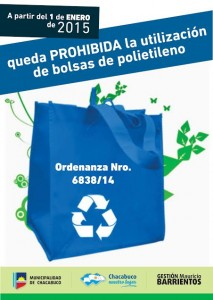 Los supermercados no podrán entregar bolsas de polietileno.