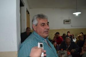 Alejandro Luz, presidente de la C. D. de la Asoc. De Bomberos Voluntarios de Rawson.
