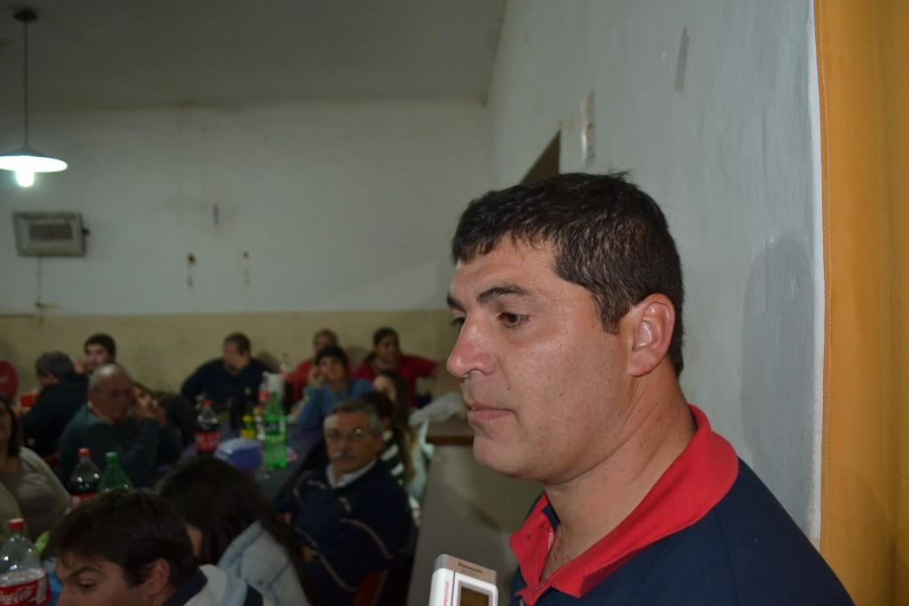 Luciano Candi, jefe del Cuerpo Activo.