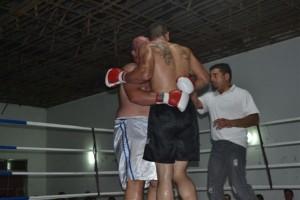 Otra imagen de la pelea entre Barroso y Ferreiró.