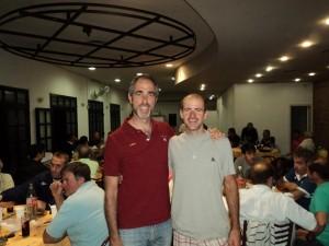 Cena en apoyo al ciclista chacabuquense Germán Broggi.
