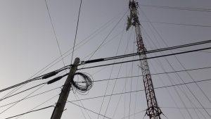 El cableado de la fibra óptica llegó a la Cooperativa.