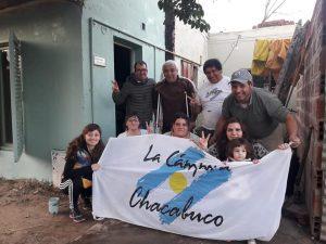 Jornada solidaria de La Cámpora Chacabuco