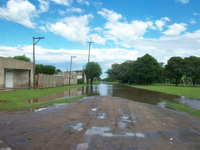 Imagen de la calle Colón hacía Pellegrini.