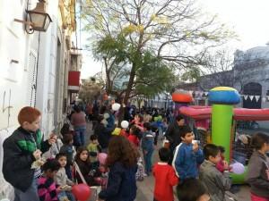 Festejo Día del Niño en Chacabuco.